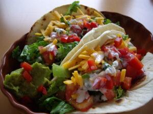 Mexican Quesadillas and Tacos